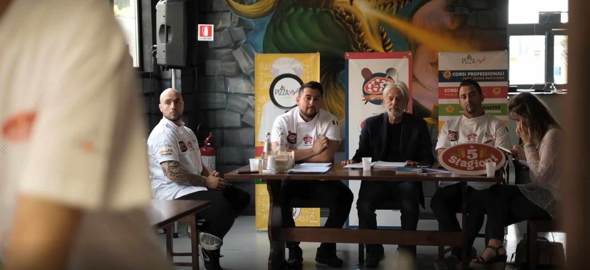 Corso da pizzaiolo con istruttore Walter Di Nonno – Ne parlano Mario e Alfredo Folliero